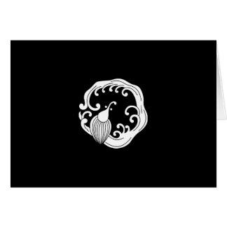 Circle of rainy dragon card