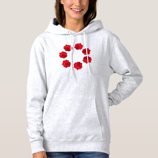Circle of Roses Designed by Nisatirut Hoodie