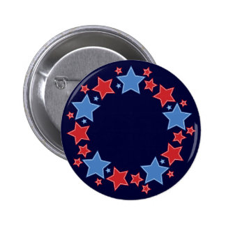 Circle of Stars 2 Inch Round Button