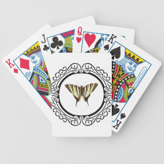 circle of the butterfly bicycle playing cards