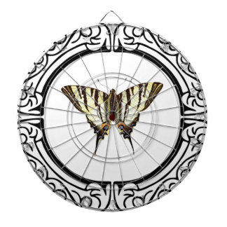 circle of the butterfly dartboard