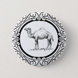 circle of the camel 2 inch round button