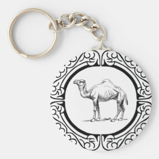 circle of the camel keychain