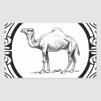 circle of the camel sticker