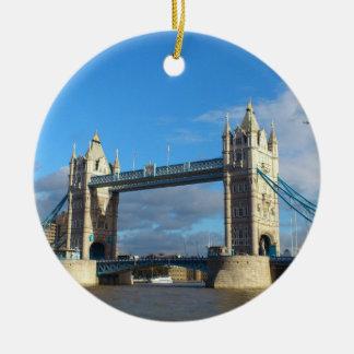 Circle Ornament-Tower Bridge London Ceramic Ornament