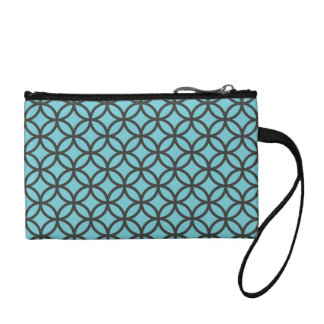 Circle Pattern Geometric Pattern Coin Purse