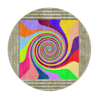 Circle Pattern In MultiColors Boards