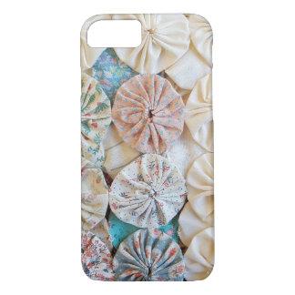 circle puff patchwork quilt design iPhone 8/7 case