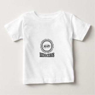 Circle Rhino Baby T-Shirt