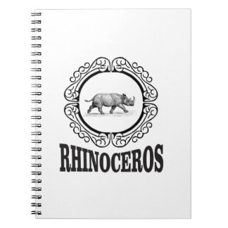 Circle Rhino Notebook