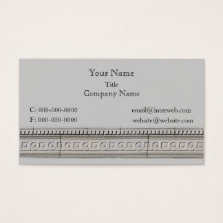 Circle Square Architectural Stone Custom Business  Business Card