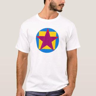 Circle square pentagon circle square pentacle T-Shirt