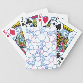 Circle stacks bicycle playing cards