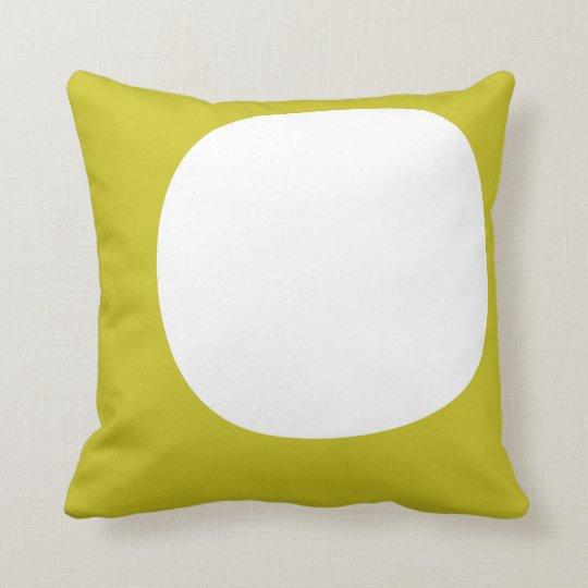 Circle/Star green pillow