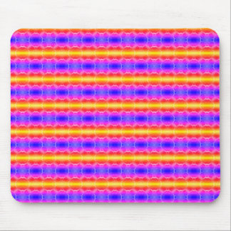 Circle Stripes Mouse Pad