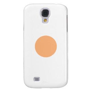 Circle Yellow 1485 c Sq Circle Trans-2 The MUSEUM Samsung Galaxy S4 Case