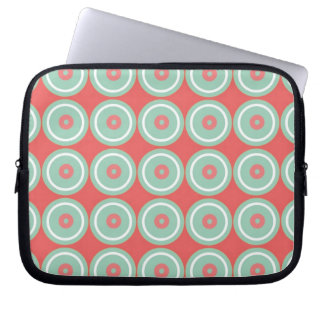 Circled Circles Laptop Sleeve
