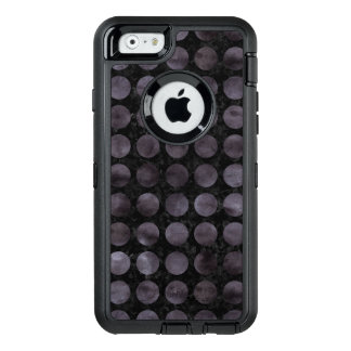 CIRCLES1 BLACK MARBLE & BLACK WATERCOLOR OtterBox iPhone 6/6S CASE