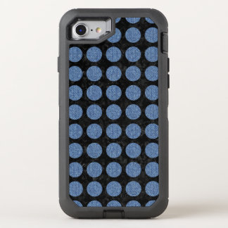CIRCLES1 BLACK MARBLE & BLUE DENIM OtterBox DEFENDER iPhone 8/7 CASE