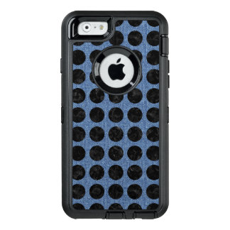 CIRCLES1 BLACK MARBLE & BLUE DENIM (R) OtterBox DEFENDER iPhone CASE