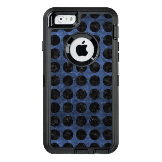 CIRCLES1 BLACK MARBLE & BLUE STONE (R) OtterBox iPhone 6/6S CASE