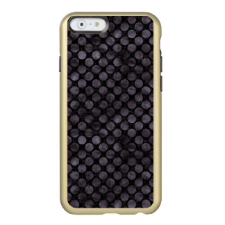 CIRCLES2 BLACK MARBLE & BLACK WATERCOLOR INCIPIO FEATHER® SHINE iPhone 6 CASE