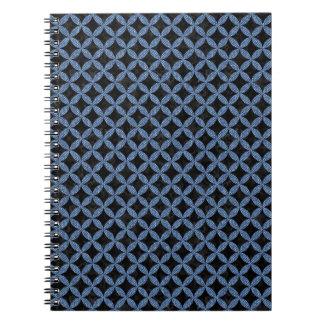 CIRCLES3 BLACK MARBLE & BLUE DENIM NOTEBOOKS