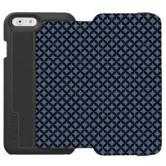 CIRCLES3 BLACK MARBLE & BLUE DENIM (R) INCIPIO WATSON™ iPhone 6 WALLET CASE