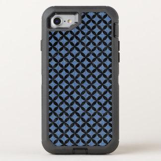 CIRCLES3 BLACK MARBLE & BLUE DENIM (R) OtterBox DEFENDER iPhone 8/7 CASE
