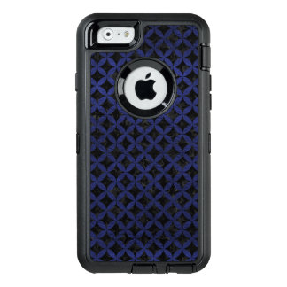 CIRCLES3 BLACK MARBLE & BLUE LEATHER OtterBox iPhone 6/6S CASE