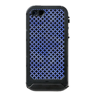 CIRCLES3 BLACK MARBLE & BLUE WATERCOLOR INCIPIO ATLAS ID™ iPhone 5 CASE