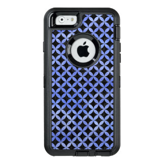 CIRCLES3 BLACK MARBLE & BLUE WATERCOLOR OtterBox iPhone 6/6S CASE