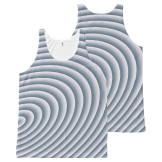 Circles All-Over-Print Tank Top