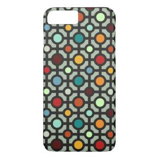 Circles and Grid Vivid iPhone 8 Plus/7 Plus Case