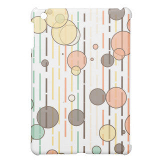Circles and lines cover for the iPad mini