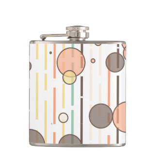 Circles and lines flask