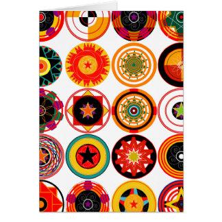 Circles and Spirals Card