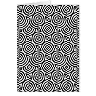 Circles and Squares Card