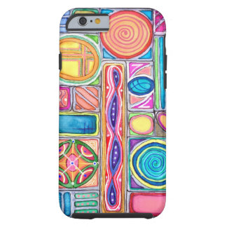 Circles Are Square iPhone Case