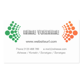 circles business card