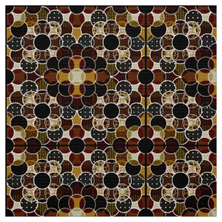 Circles, Circles, Circles Dark Fabric