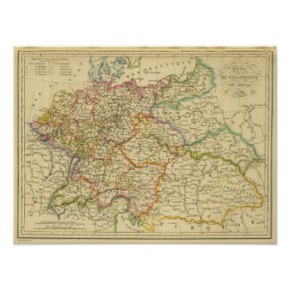 Circles in Germany by 1789 Poster