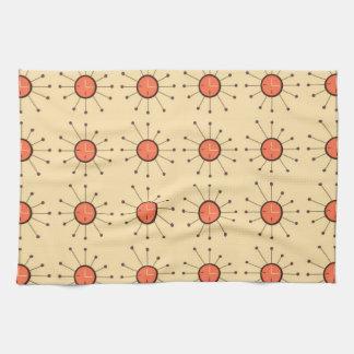 circles_lines_texture_ kitchen towel