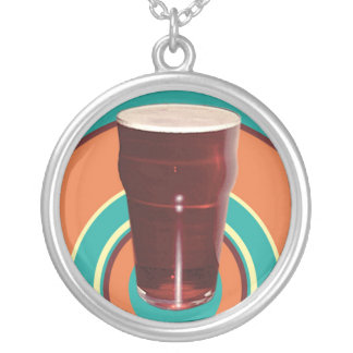 Circles of Ale Round Beer Necklace