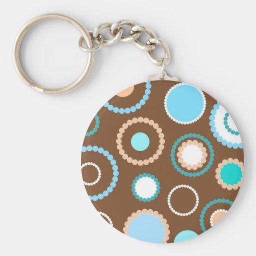 Circles pattern - Keychain