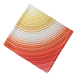 Circles - Red and Yellow Bandana