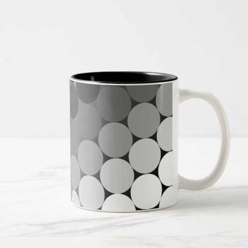 Circles & Shades Coffee Mug