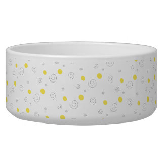 Circles & Spirals Pet Food Bowl