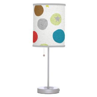 Circles Whimsical Table Lamp