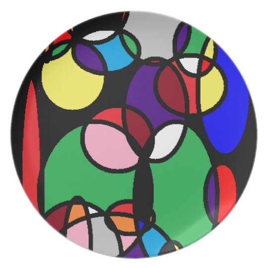 CircleSplattered Plate